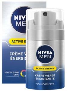 Crème visage énergisante - Active Energy, Nivea Men (50 ml)