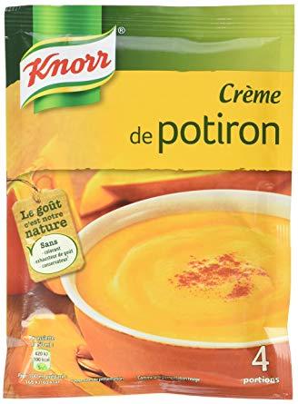 Crème de Potiron déshydratée, Knorr (100 g)