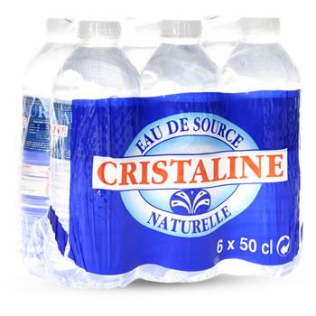 Pack de Cristaline (6 x 50 cl)