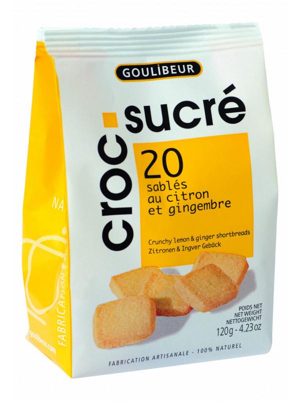 Croc sucré citron, Goulibeur (120 g)