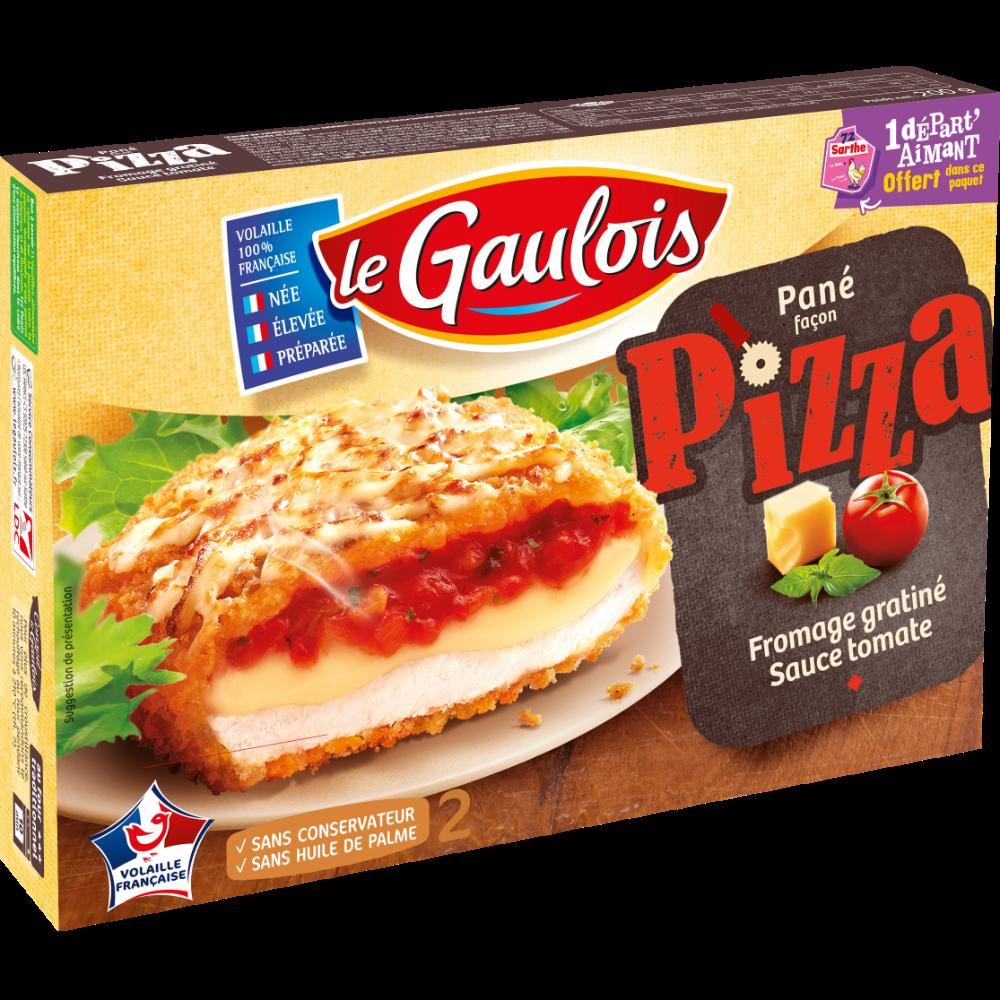 Pané façon pizza, Le Gaulois (x 2, 200 g)