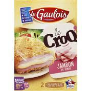 Croq' Jambon de dinde & fromage, Le Gaulois (x2, 200 g)