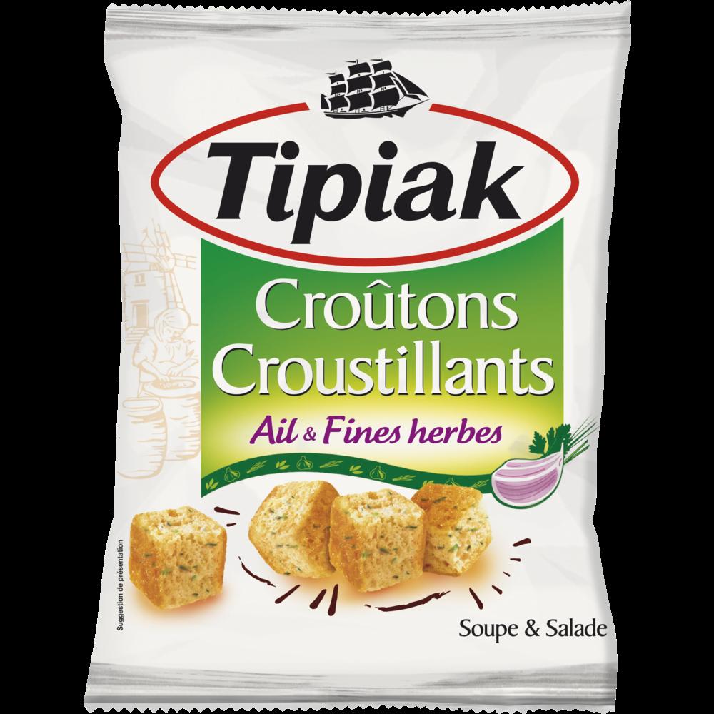 Croûtons ail & fines herbes, Tipiak (100 g)