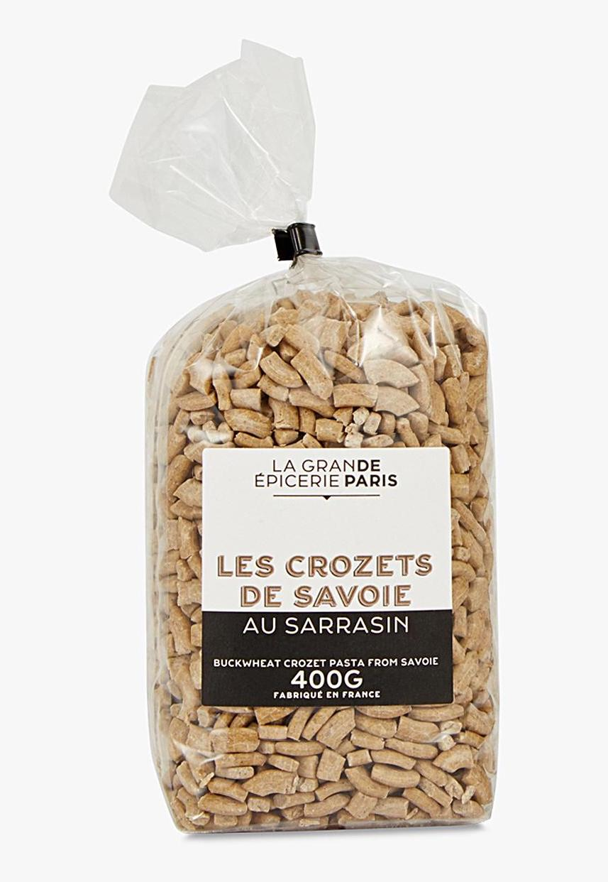 Crozets de Savoie au sarrasin, La Grande Epicerie de Paris (400 g)