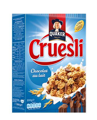 Cruesli au chocolat au lait, Quaker  (500 g)