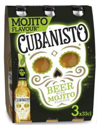 Pack de Cubanisto Mojito 5,9° (3 x 33 cl)