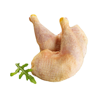 Cuisse de poulet jaune fermier (x 2, 600 - 650 g)