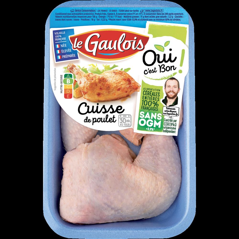 Cuisses de poulet, Le Gaulois (x 2)