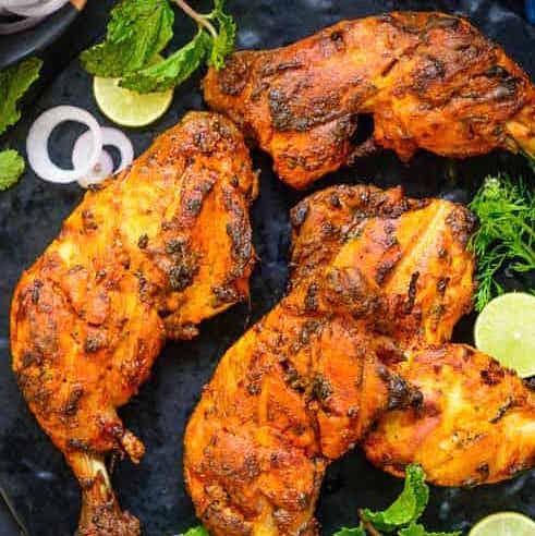 Cuisses de poulet tandoori (x 2, 390 g)