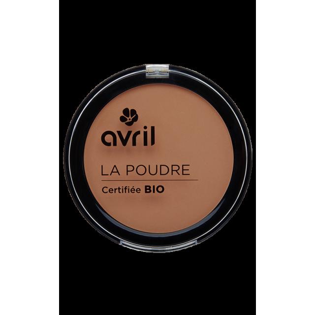 Poudre compacte cuivré certifiée BIO, Avril (7 g)