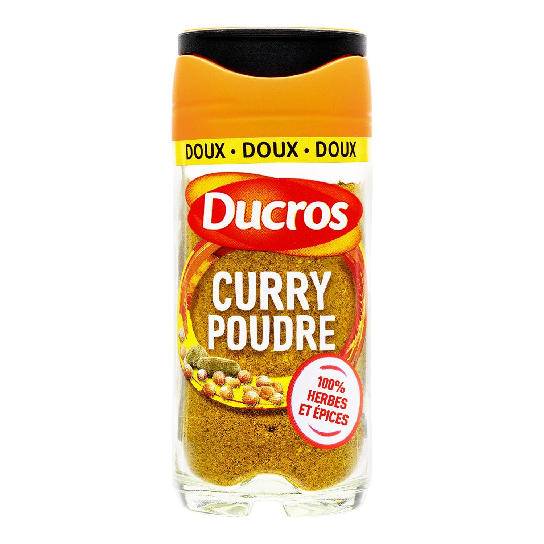 Curry en poudre doux, Ducros (42 g)