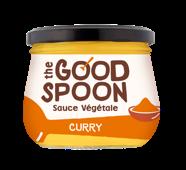 Sauce végétale Curry, The Good Spoon (250 g)