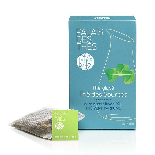 Thé glacé - thé des sources, Palais des thés (x 6)