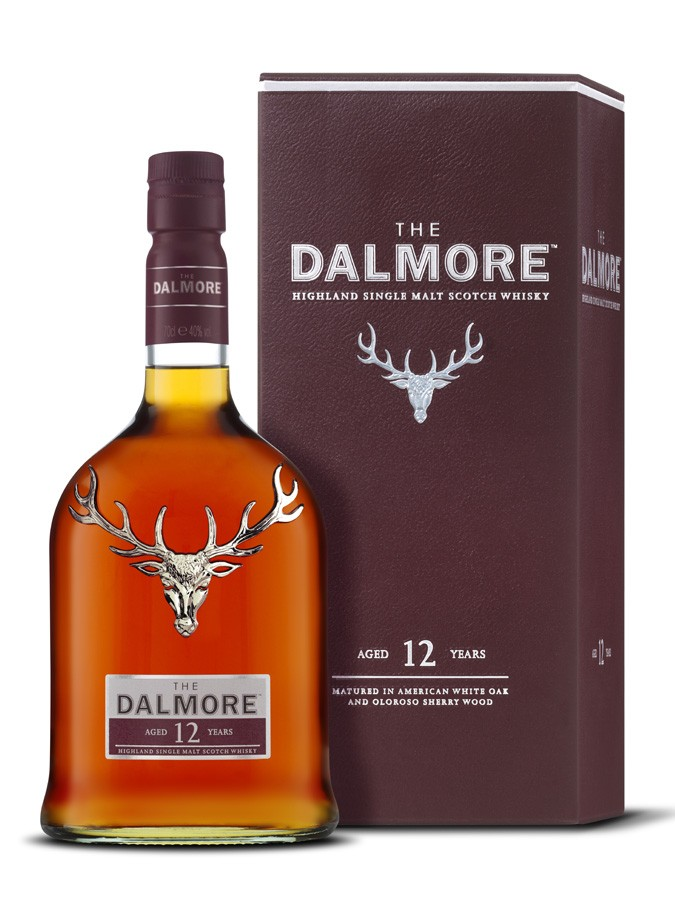 Whisky Dalmore 12 ans d'âge (70 cl)