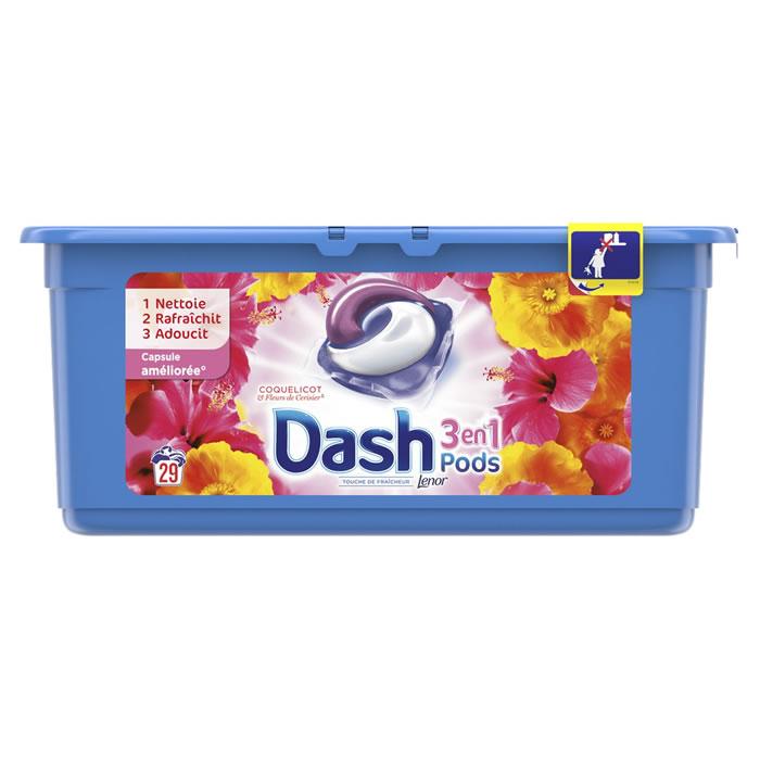 Lessive écodose coquelicot, Dash (x 18)