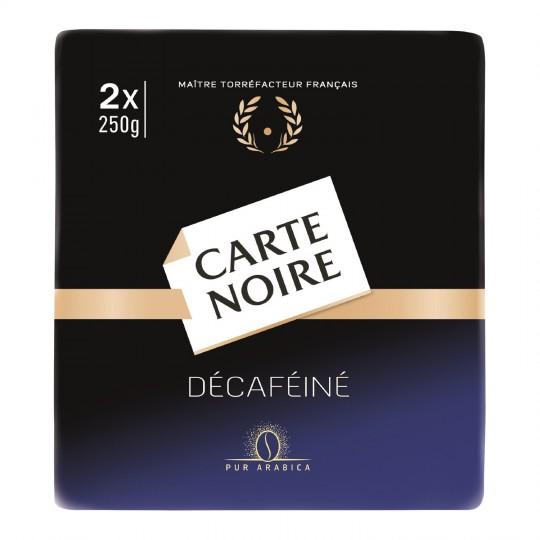Café moulu décaféiné, Carte Noire LOT DE 2 (2 x 250 g)