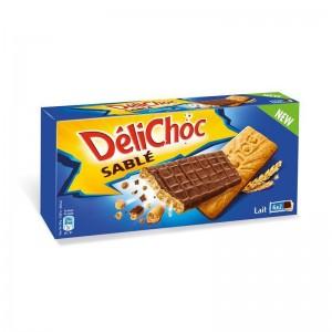 Biscuit Délichoc sablé chocolat au lait, Delacre (150 g)