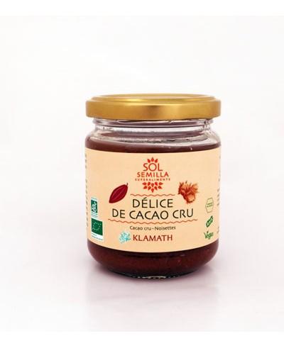 Délice de cacao cru Klamath, Sol Semilla (190 g)