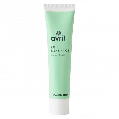Dentifrice à la menthe certifié BIO, Avril (75 ml)