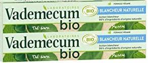 Dentifrice blancheur naturelle BIO, LOT DE 2, Vademecum (2 x 75 ml)