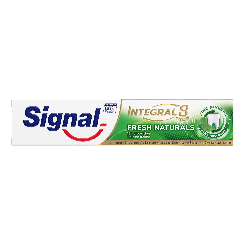 Dentifrice Intégral 8 Fresh Naturals, Signal (75 ml)