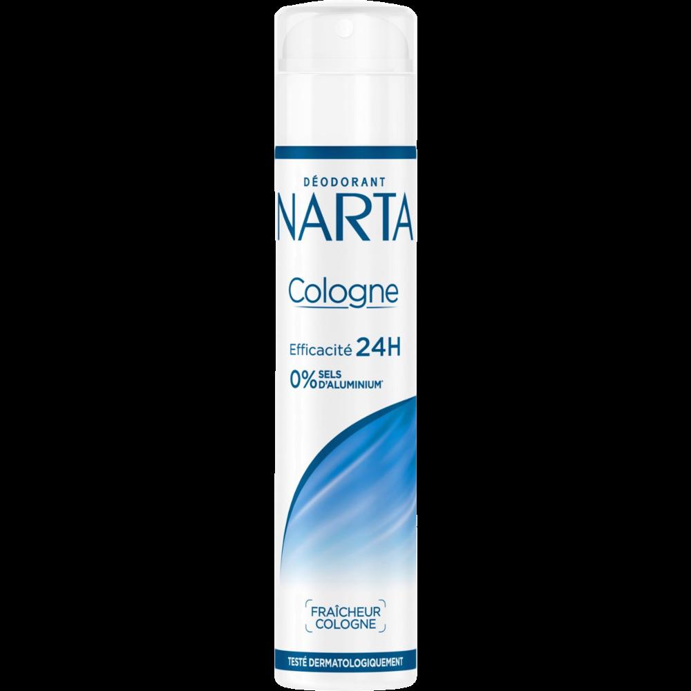 Déodorant pour femme fraîcheur cologne, Narta (200 ml)