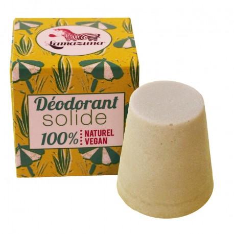 Déodorant solide au palmarosa, Lamazuna
