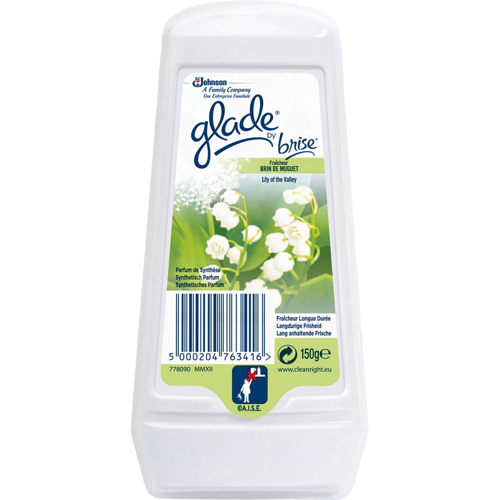 Désodorisant en gel longue durée parfum brin de muguet, Glade by Brise