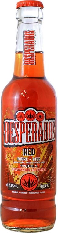 Desperados Red, 5.9° (33 cl)