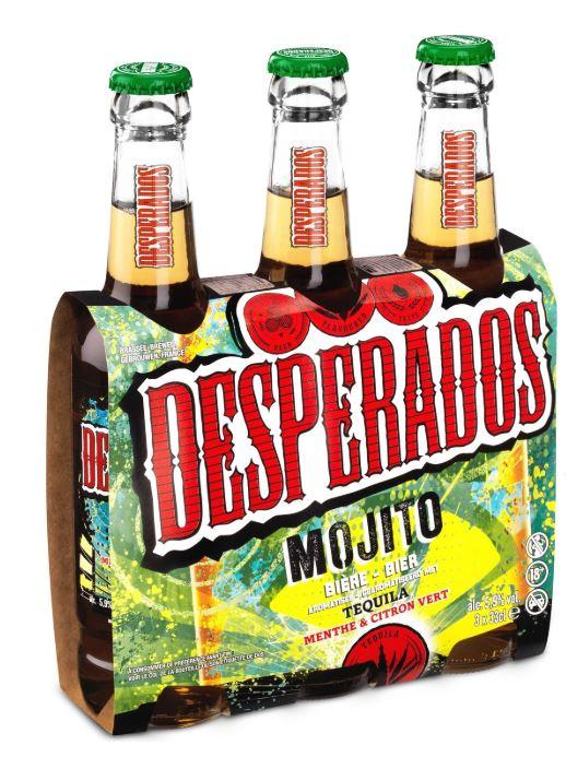 Pack de Desperados Mojito 5.9° (3 x 33 cl)