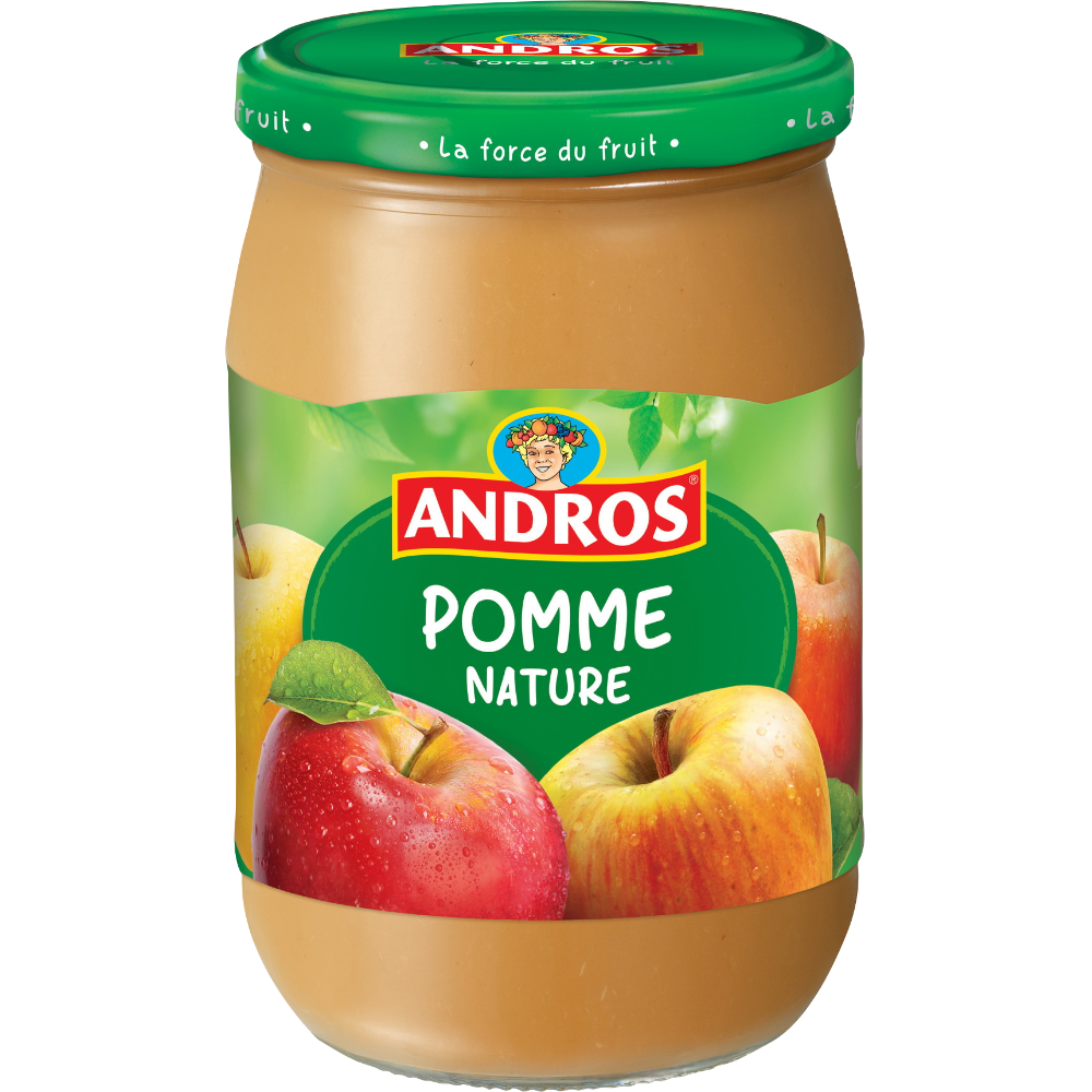 Compte de pomme nature, Andros (660 g)