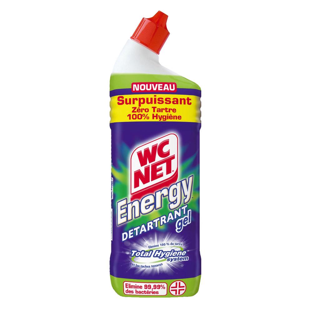 "Gel Javel ""Détartrant Total Hygiène System"", WC Net Energy (750 ml)"