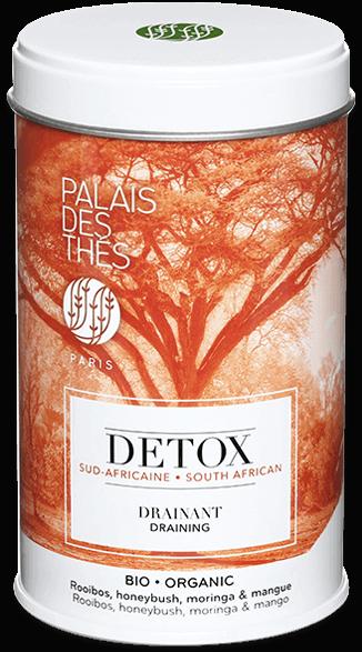 Thé DETOX DRAINANT Sud-africaine BIO, Palais des Thés (100 g)