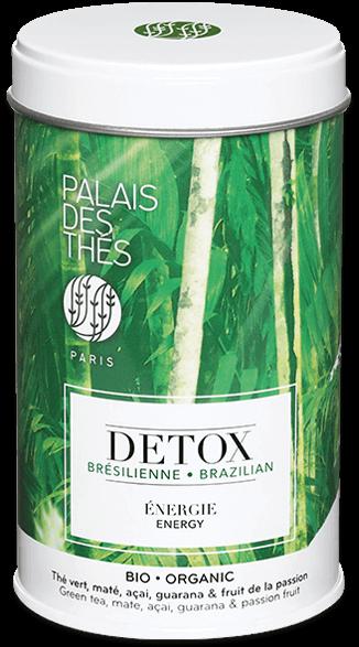 Thé DETOX ENERGIE Brésilienne BIO, Palais des Thés (100 g)