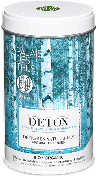 Thé DETOX DEFENSES NATURELLES Scandinave BIO, Palais des Thés (100 g)