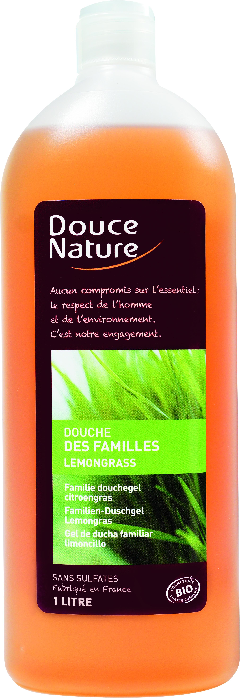 Douche des familles lemongrass, Douce Nature (1 L)