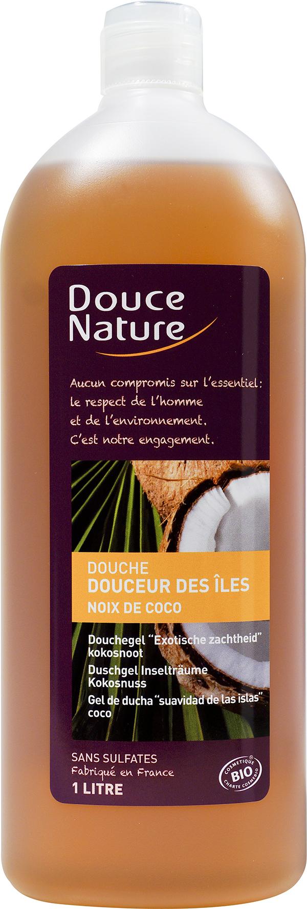 Douche douceur des îles noix de coco, Douce Nature (1 L)