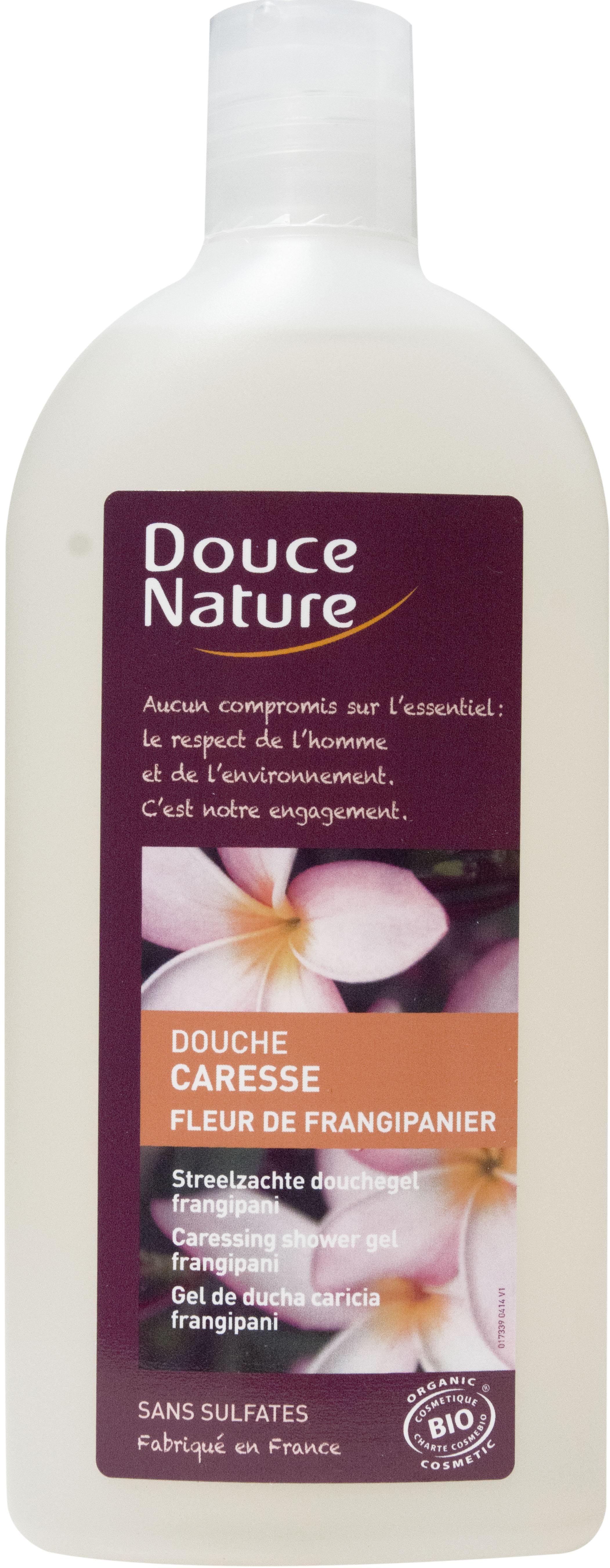 Douche caresse fleur de frangipanier, Douce Nature (300 ml)