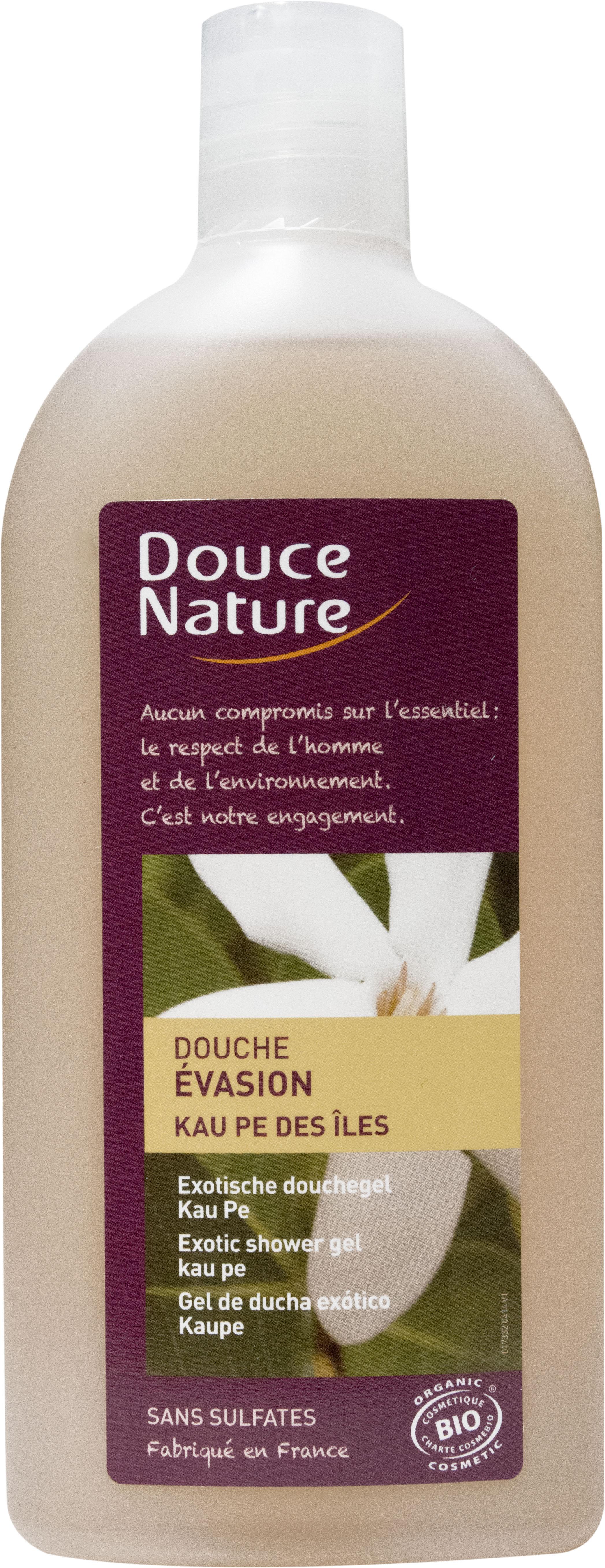 Douche évasion Kau pe des îles, Douce Nature (300 ml)