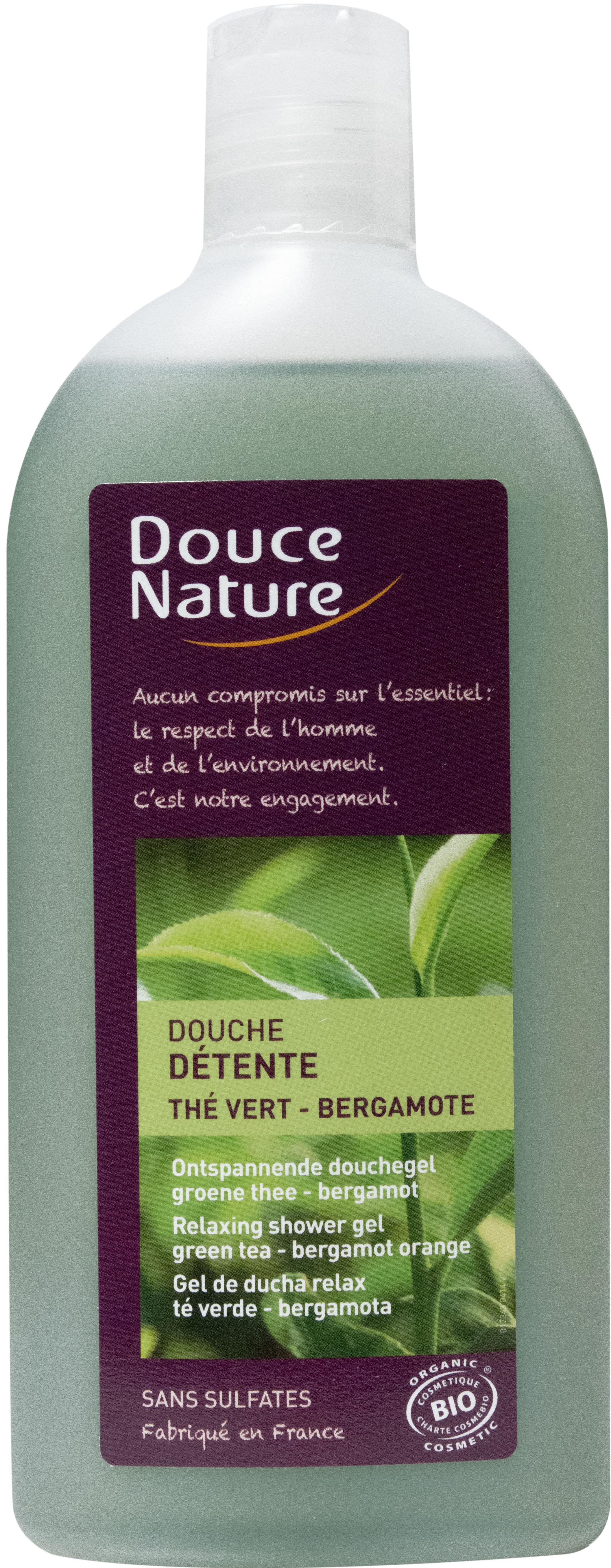 Douche détente Thé vert Bergamote, Douce Nature (300 ml)