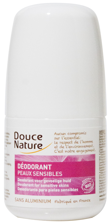 Déodorant bille peaux sensibles, Douce Nature (50 ml)
