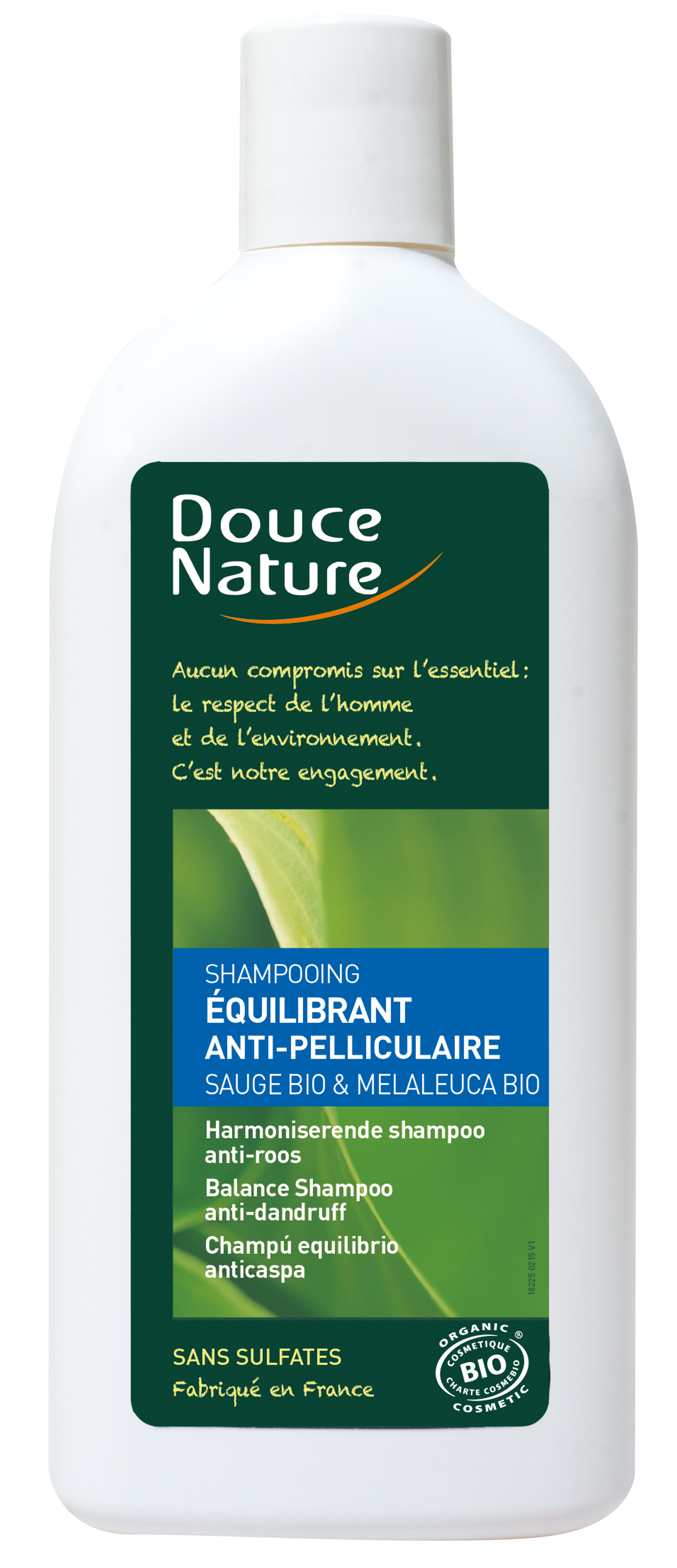 Shampooing équilibrant anti-pelliculaire, Douce Nature (300 ml)