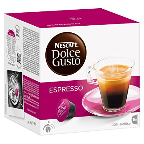 Café capsule Dolce Gusto Espresso (x 16)