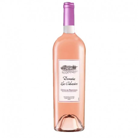 Côtes de Provence Rosé, Domaine Les Cabassiers 2016 (75 cl)