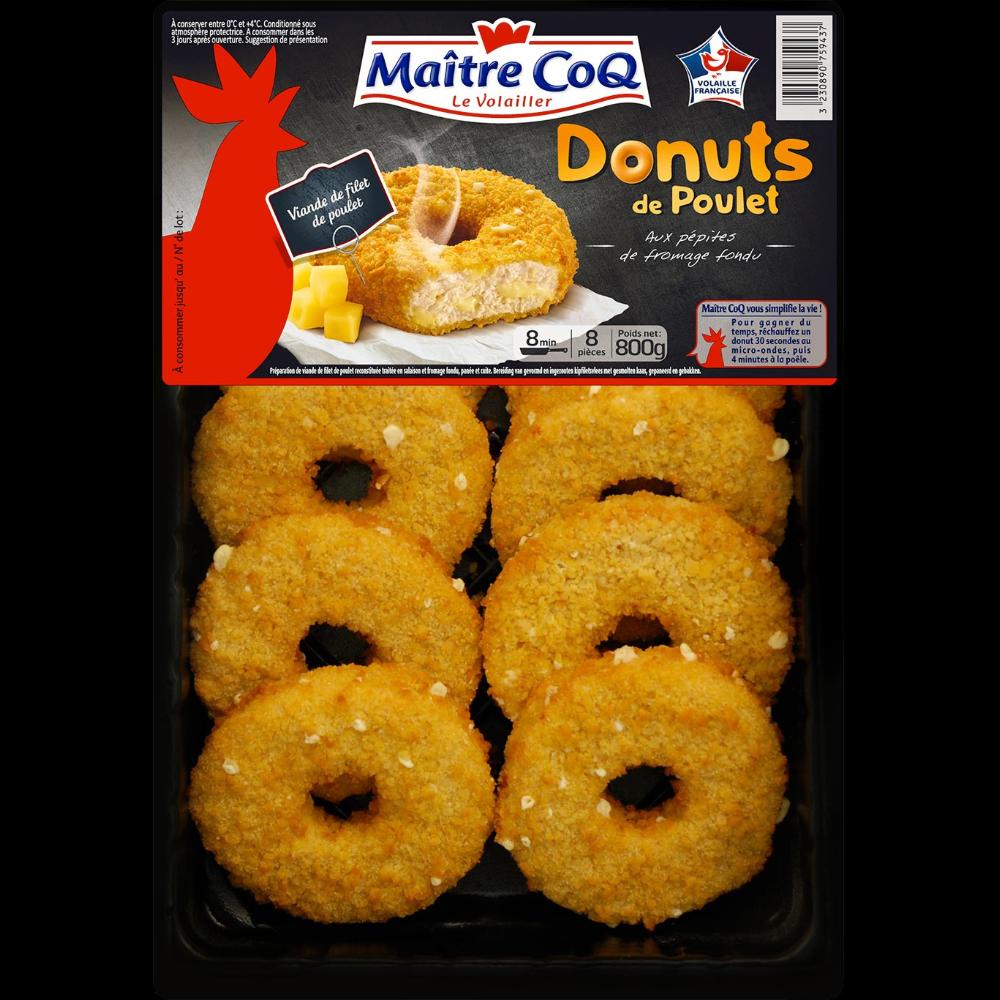Donuts de poulet, Maître Coq (800 g)