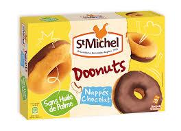 Doonuts nappés au chocolat, St Michel (180 g)