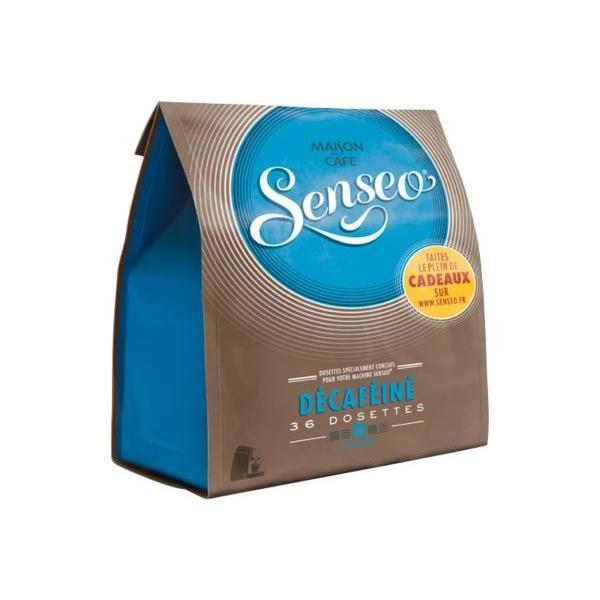 Café dosette Senseo décaféiné (x 36, 250 g)