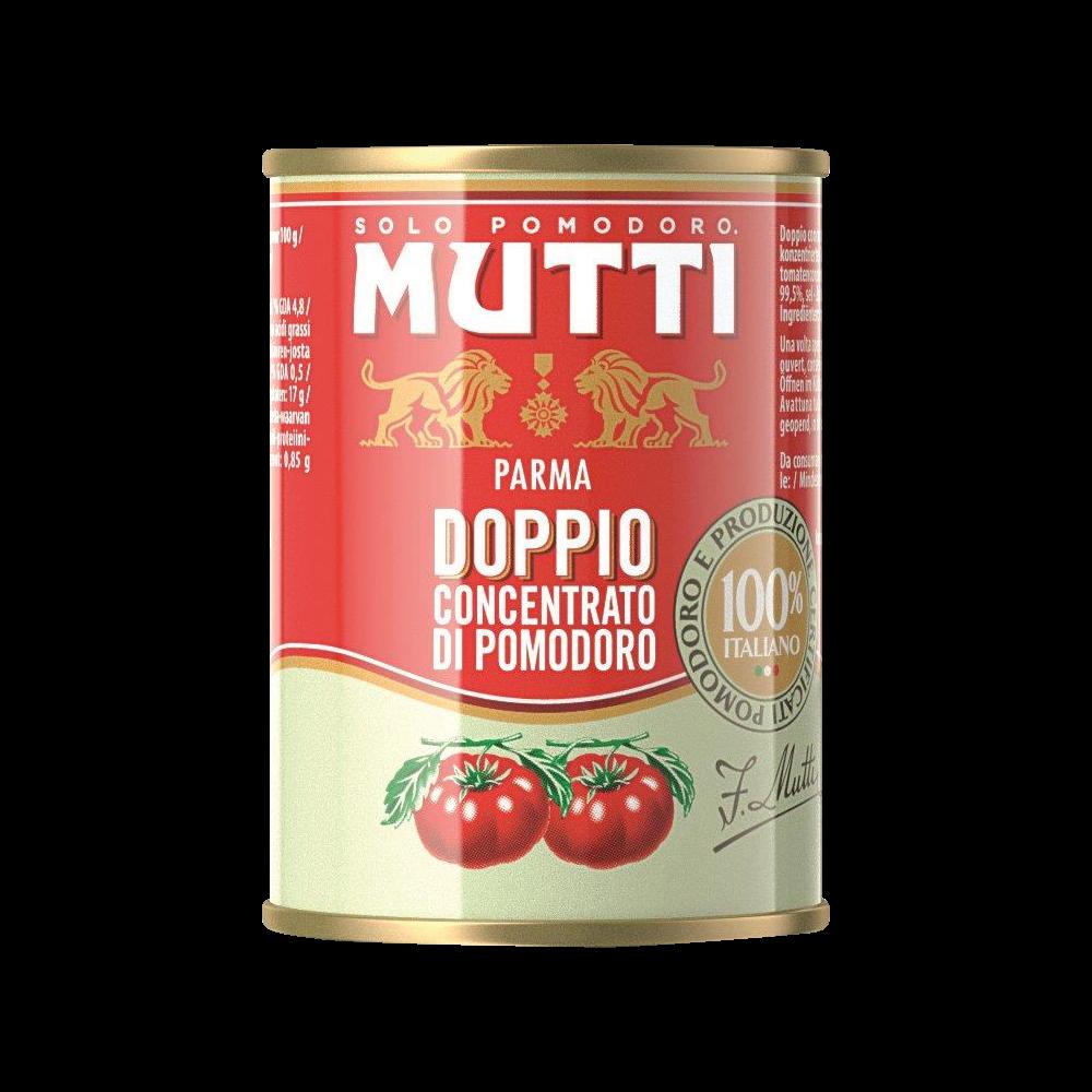 Double concentré de tomates, Mutti (140 g)