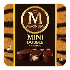 Mini Magnum Double Caramel (x 6)