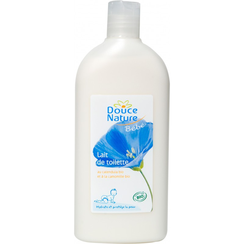 Lait de toilette ultra doux, Douce Nature  (300 ml)